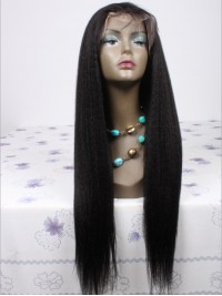 Straight Lace Front Human Hair Wig - LF-BHC1078