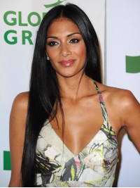 Nicole Scherzinger Inspired Human Hair Lace Front Wig-LF-SC033