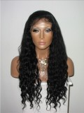 Loose Curls lace front Human Hair Wig-LF-bhc279