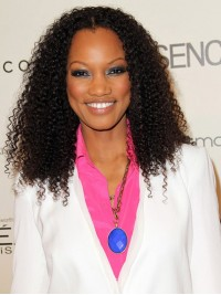 Garcelle Beauvais inspired Human Hair lace front Wig-Curly-LF-cst023