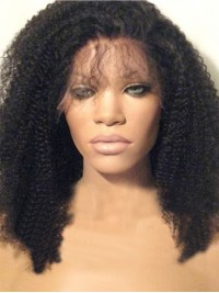 Curly Lace Front Human Hair Wig-LF-CC005