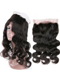Brazilian virgin body wave 360 lace frontal-BW360