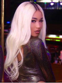 Yeezy Platinum Blond Human Hair Lace Wig