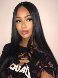 Bestseller-Brazilian Virgin Straight Full Lace Human Hair Wig - BHC1078