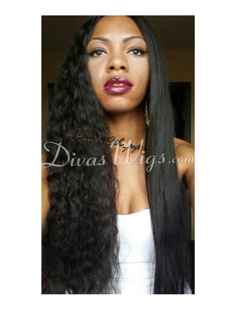 White Inspired Human Hair Curly | jessica white inspired