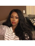 Jessica White Brazilian Virgin Human Hair Curly Full Lace Wig - cec001