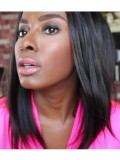 "12"" Keri Hilson Straight Full Lace Wig - ces004"