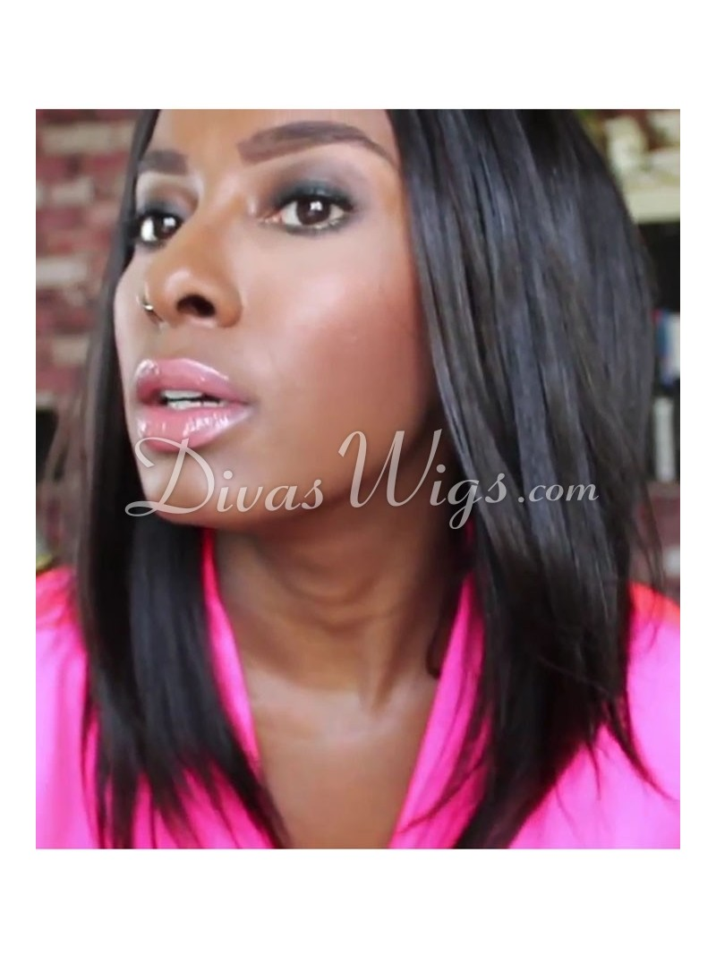 Straight Full Lace Wigs > Keri Hilson Straight Full Lace Wig - ces004 ...