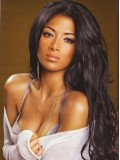 "24"" Darkest Brown(#2) Nicole Scherzinger Wavy Full Lace Wig - cew010"
