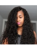 Custom Curly Full Lace Human Hair Wig-bhc279