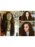 Custom Curly Full Lace Wig-bhc297