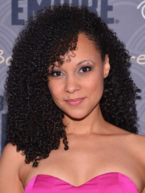 Stock Tight Curl Human Hair Full Lace Wig Curly Cst017